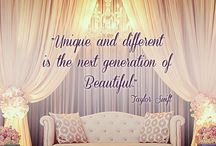 Quotes About Style and Design / We love words of inspiration from around Pinterest and beyond. Enjoy this collection of quotes about style and design, paired with images of our beautiful linens in action!