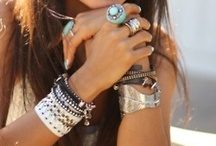 Bracelets, rings & more / by Leslie