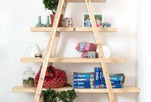 Escaleras de madera recicladas / Las escaleras de madera pueden ser muy útiles!