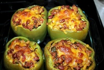 Main course / Mexican stuffed peppers