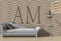 Decorative 3D Wall Panels / 3D Textured wall panels, Decorative 3D wave  panels for walls, 3D MDF textured wall panels, 3d wall decor, 3d wall tiles