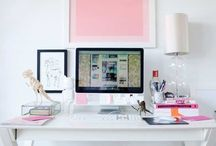 Business: Home Office / Behind every great business is a great workspace.