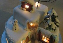CHRISTMAS  / CAKES, TOPPERS