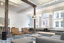 Industrial loft space in New York