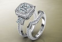 Bridal Sets / Looking for the perfect Engagement Ring with a Matching Band? Look no more!