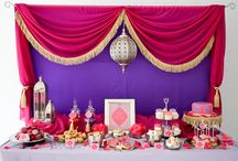 Moroccan / Arabian Themed Party Ideas