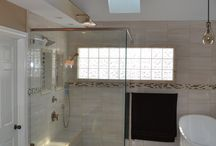 Master bathroom remodel in Carmel, Indiana