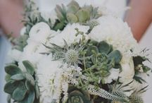 Coastal Bouquets / Informal, asymmetrical shapes, soft unstructured blooms in neutral tones - whites & sandy shades, with silvery foliage & maybe beach grasses eg. Toitoi