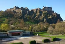 Edinburgh / It's where we are, and it's beautiful.