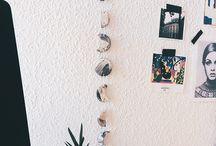 Wall Decor DIY / Moon phase wall decor, wall hanging, moon phase wall art, wall diy, clay wall hanging, clay diy, moon phase garland, wall garland, wall decor ideas, wall decor diy, wall decored, decoración habitación, apartment decor, moon phases art, moon phases drawing.
