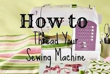 learning to sew!