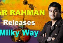 """""""MILKY WAY"""" Album launched by Mozart of Madras, Oscar winner A.R.Rahman. Digital Partner - GIRI"""