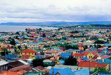 Punta Arenas e Puerto Natales - Chile / Fotos de pontos turísticos do Chile