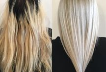 Blonde, color hair