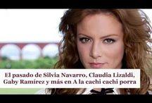 El pasado de Silvia Navarro, Claudia Lizaldi, Gaby Ramírez y más en A la cachi cachi porra