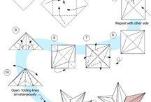 Instruções origami