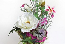 Laboratorium Bez Wody / kompozycje i dekoracje z kwiatów sztucznych silk flowers arrangements