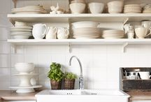 Cuisine inspirations - Kitchen inspirations / (styles country chic, romantic, manor, charm, gustavian, victorian - campagne cottage chic, romantique, manoir, charme, château, victorien, gustavien)