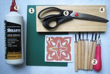 Make own stencil-scrapbooking