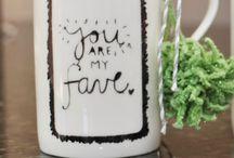 Deco paint mugs