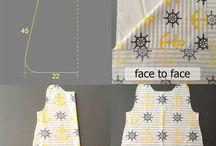 Sewn baby clothes - Varrott babaruhák