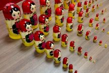55 Pc semenovskay collection Russian doll