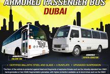 Armored or Bulletproof Bus Dubai
