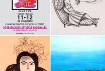ARTISTAS / Pintura sobre papel