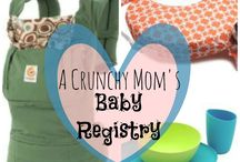 A Crunchy Mom's Baby Registry Ideas