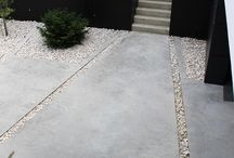 Concrete Entrance