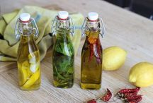 huile et vinaigre aromatisé