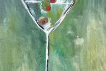 March 2015 Events and Art Work / Do you like these paintings? Learn how to create your own masterpiece today! Classes all over the greater Seattle area.  http://corksandcanvasevents.com/
