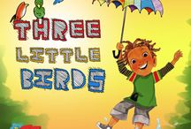 Bob Marley's Three Little Birds / A New Reggae Children's Musical /  Based on the story by Cedella Marley /  Adapted for the stage by Michael J. Bobbitt /  Additional music and lyrics by John L. Cornelius, II /  Directed by Michael Mohammed /  Berkeley, SF, Mill Valley, San Ramon: January 24-March 29, 2015 / www.bactheatre.org