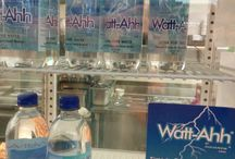 Stores That Sell Watt-Ahh® / Places where customers can purchase Watt-Ahh® by the bottle or case. #aquanew #watt-ahh