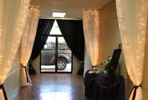 Wedding decor / idea's for the reception/venue decor