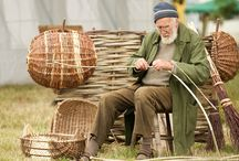 Unusual baskets and makers