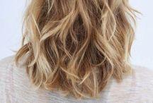 Permanent Wave Hair Short