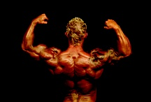 Body Building / Your body is a temple. These bodies have been sculpted through dedication and hard work.