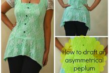 Free sewing tutorials / Free tutorials on sewing tips, Pattern drafting or Free patterns.