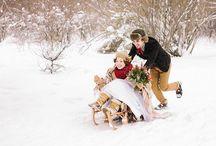 идеи для зимних фотосессий
