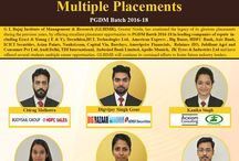 """Congratulations our """"Star Achievers"""" for getting Multiple Placements @ GLBIMR"""