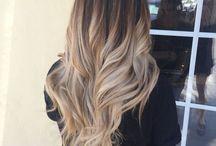 Cheveux teints
