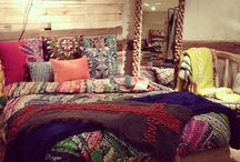 Boho bedroom / by Elis Regina