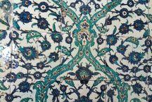 *estampados del mundo / Estampados alrededor del mundo...azulejos, porcelana y alfombras.