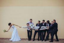 Fotos criativas de casamento