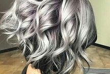 stříbrná blond