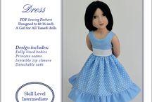 Swish&Swirl Doll Patterns