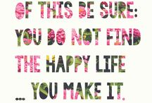 Be happy, be grateful