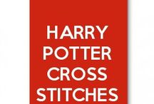 Harry Potter and Hogwarts Cross Stitches