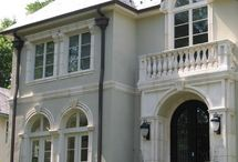 French chatou style homes